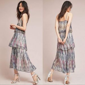 Meadow Rue | Josie Tiered Maxi Dress